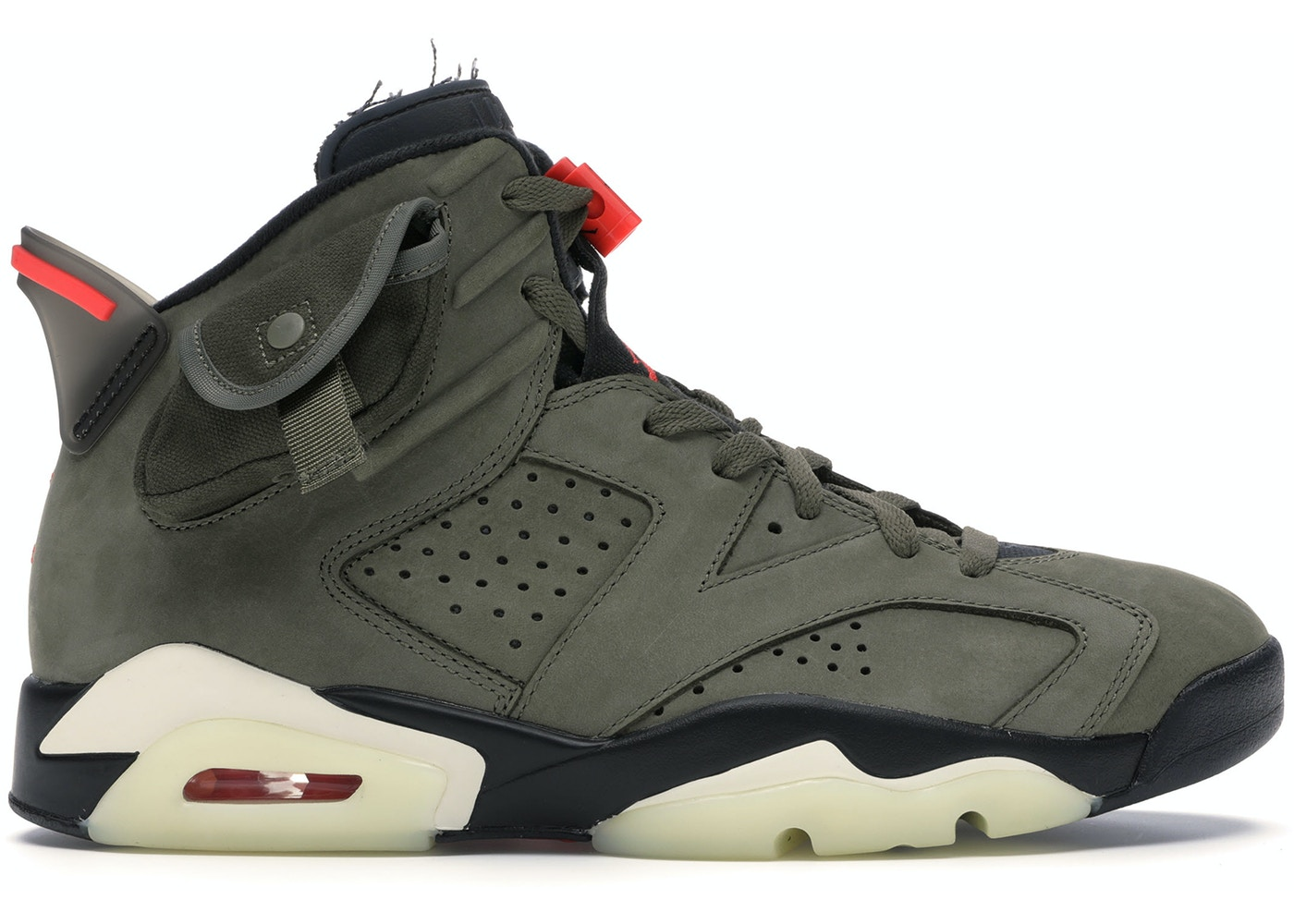 shopping huge discount los angeles Jordan 6 Retro Travis Scott