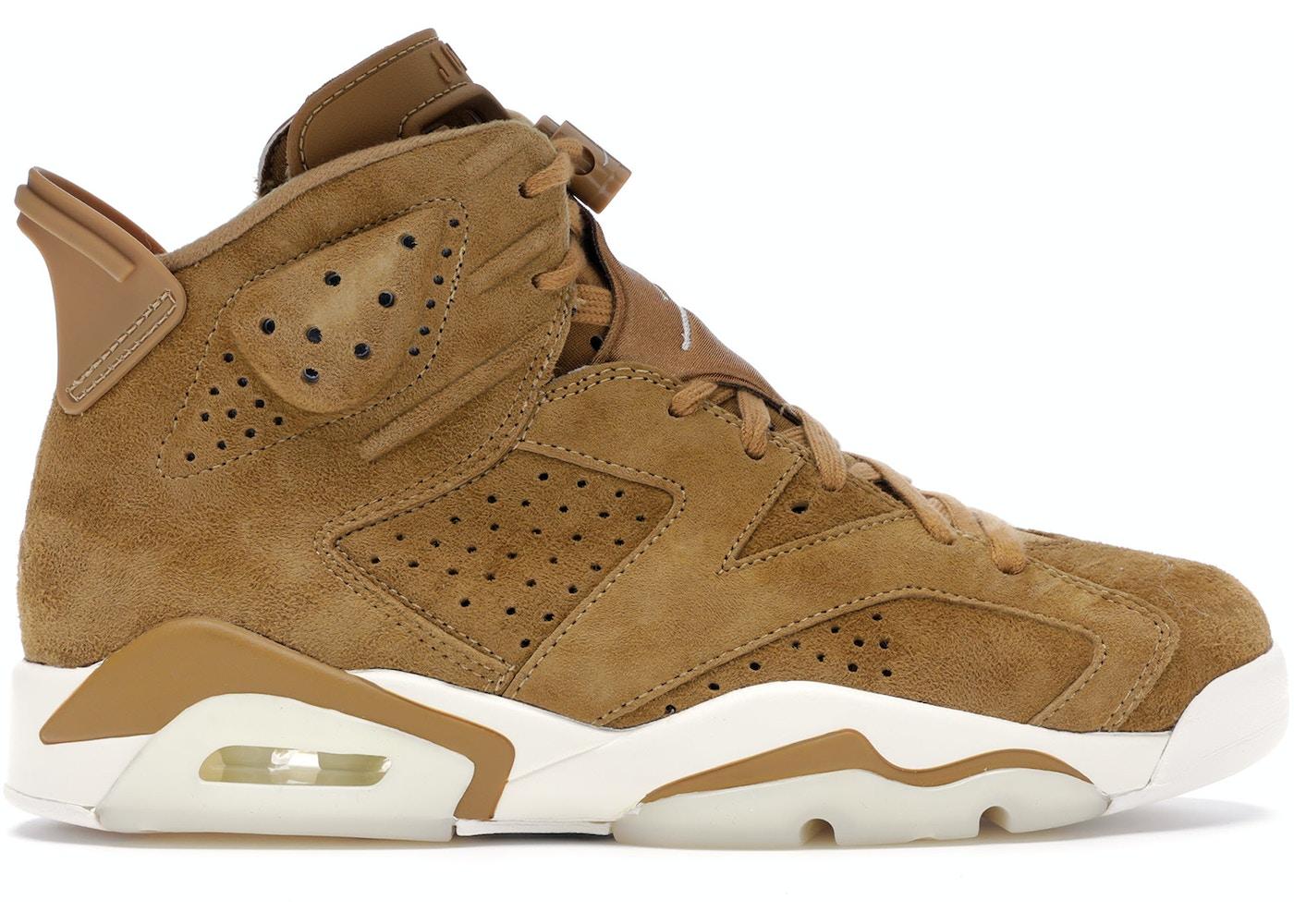 2cc04de11c14d9 Jordan 6 Retro Wheat - 384664-705