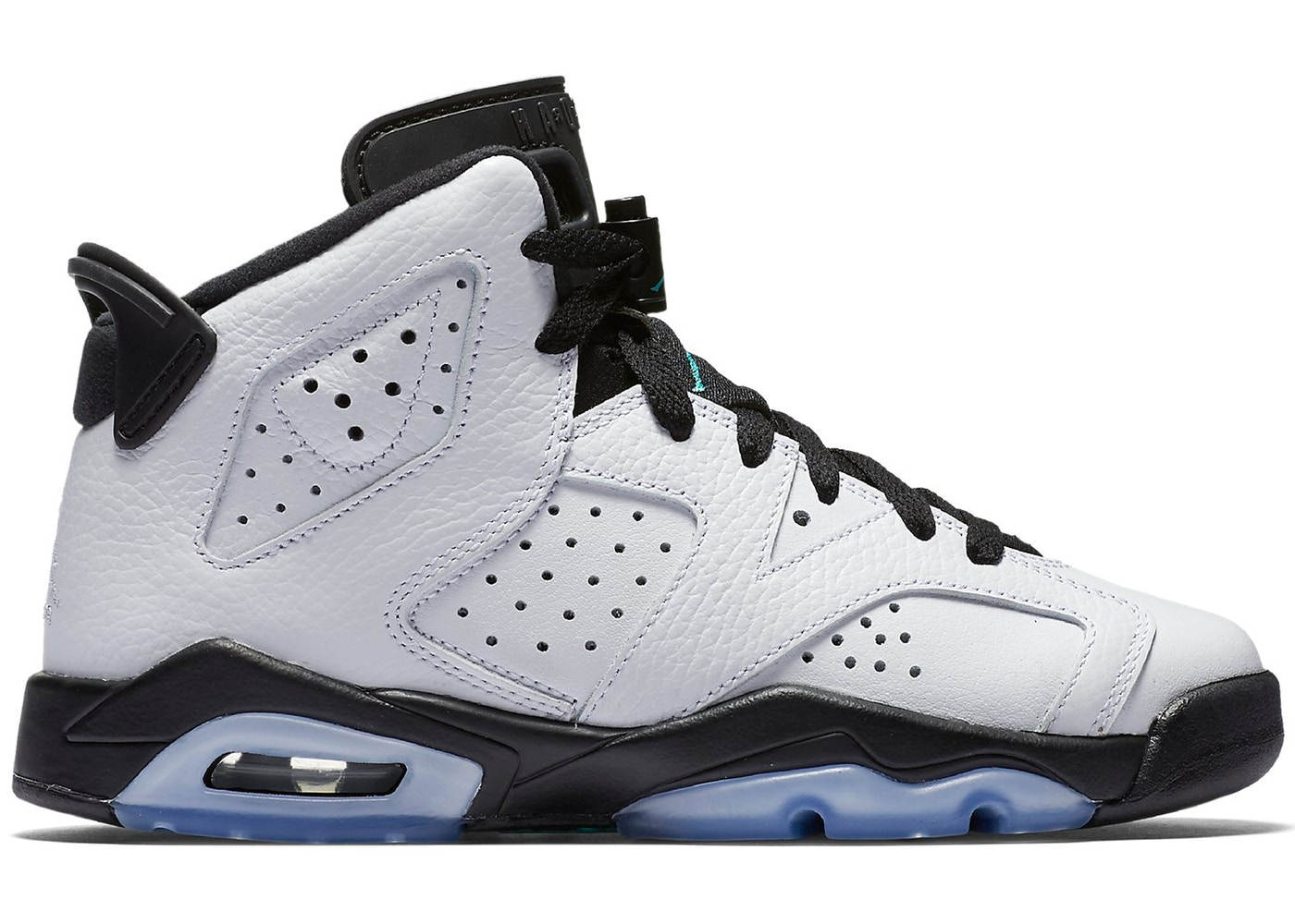 cheap for discount 30e8c 5d3e2 Jordan 6 Retro White Jade Black (GS) - 384665-122