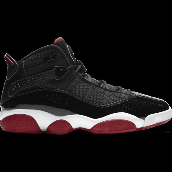 Jordan 6 Rings Black Varsity Red