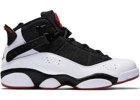 b6d32a5c500b Jordan 6 Rings Black White Gym Red - 322992-012