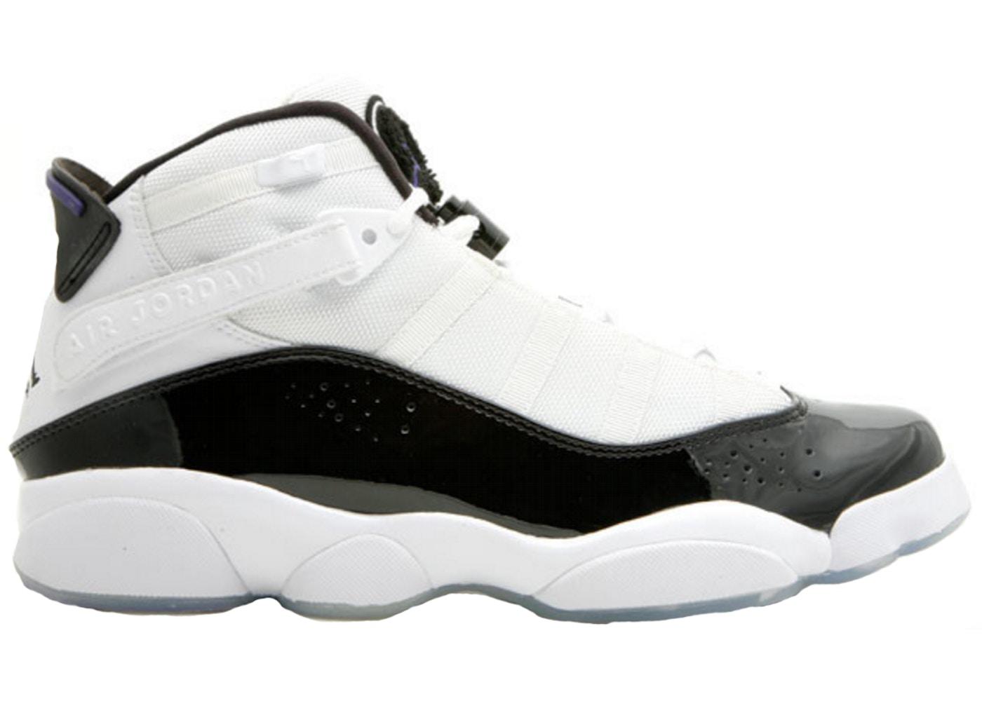 Factory Price New Mens Nike Air Jordan 6 Rings White Black Concord 322992151 Size 8 2008