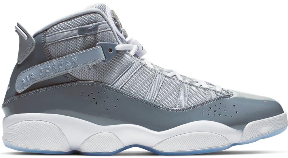 Jordan 6 Rings Cool Grey White - 322992-015