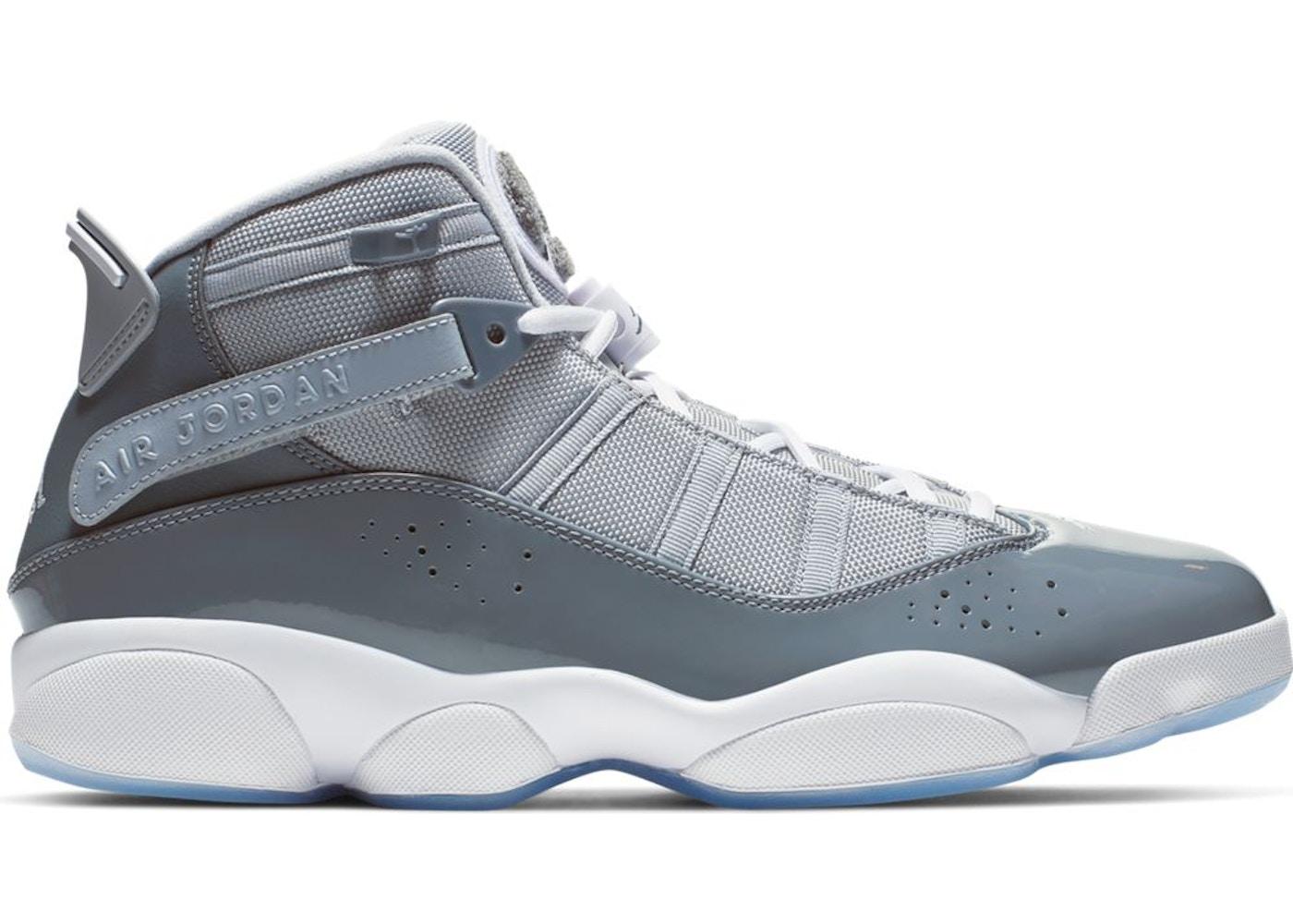 sports shoes e17c6 31605 Jordan 6 Rings Cool Grey White