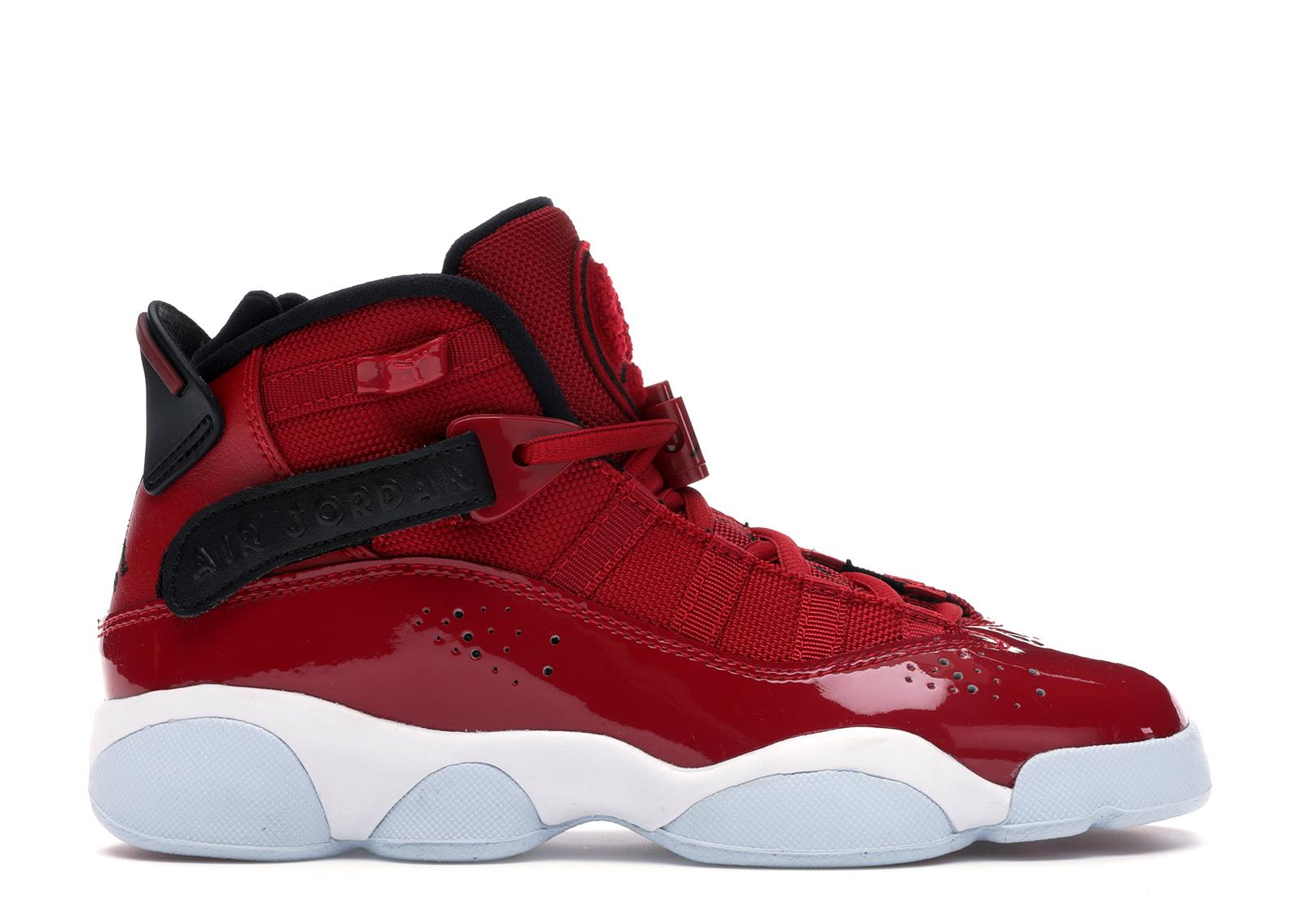 Jordan 6 Rings Gym Red (GS) - 323419-601