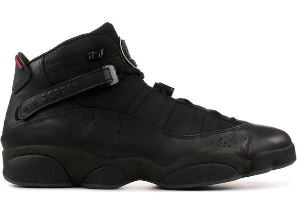 ab38301c319 Jordan 6 Rings LS Black Dark Army - 332157-011