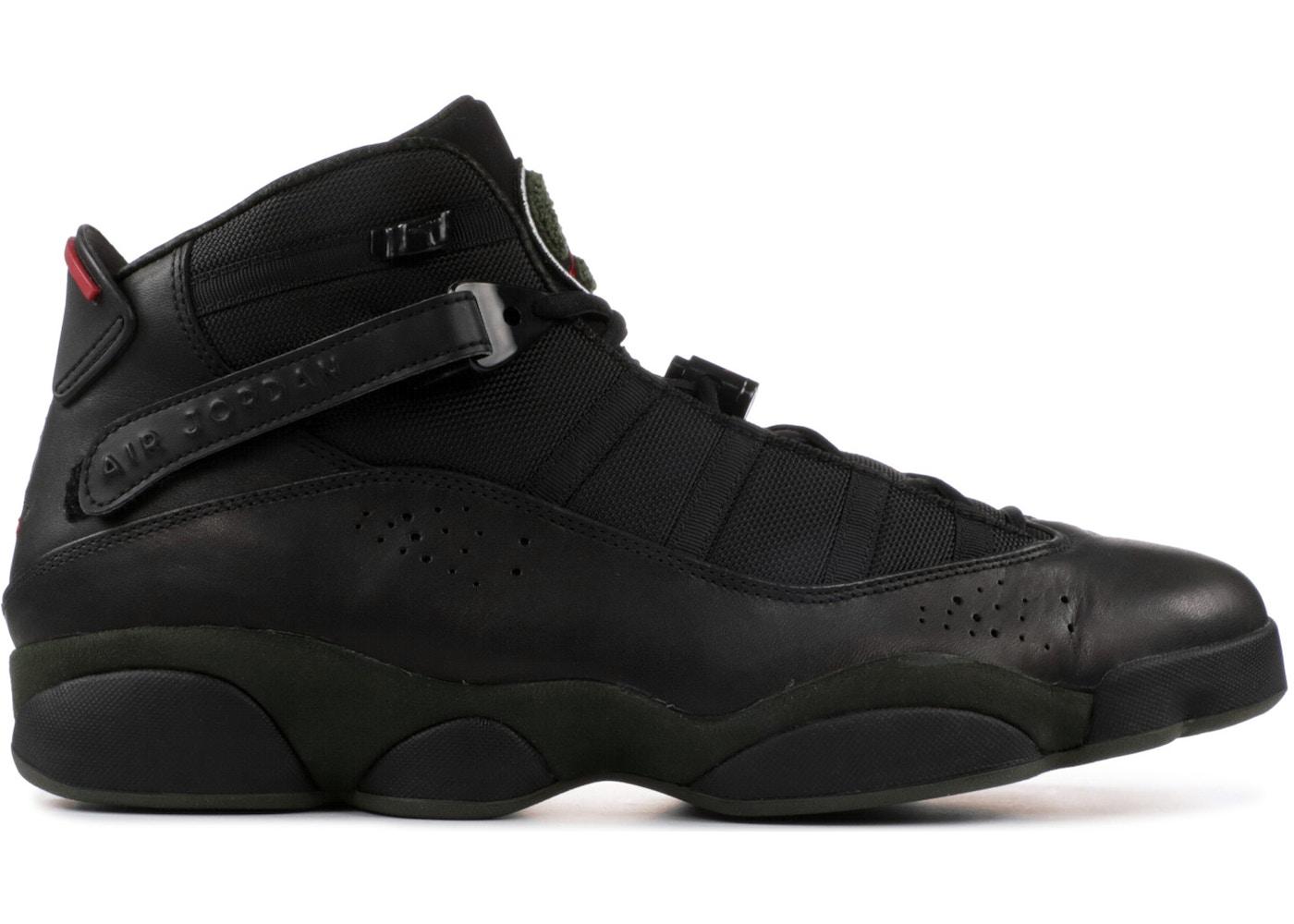 Jordan 6 Rings LS Black Dark Army - 332157-011 7e60e3e558a9