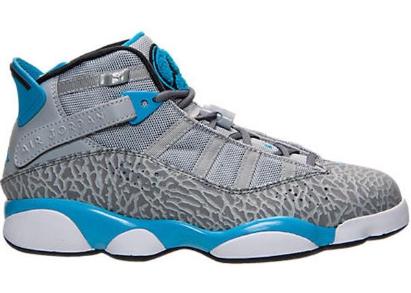 76db28d4d46 Jordan 6 Rings Powder Blue Elephant - 322992-006