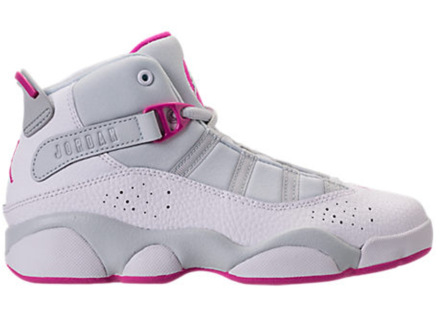 3dc6bd9038320e Sell. or Ask. Size --. View All Bids. Jordan 6 Rings Pure Platinum Fuchsia  Blast (PS)