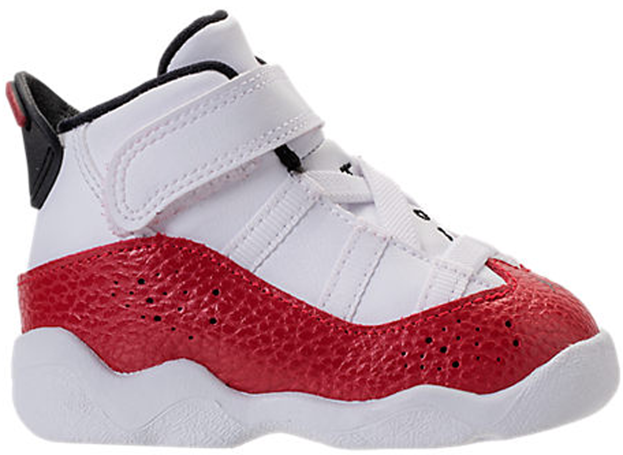Jordan 6 Rings White University Red (TD