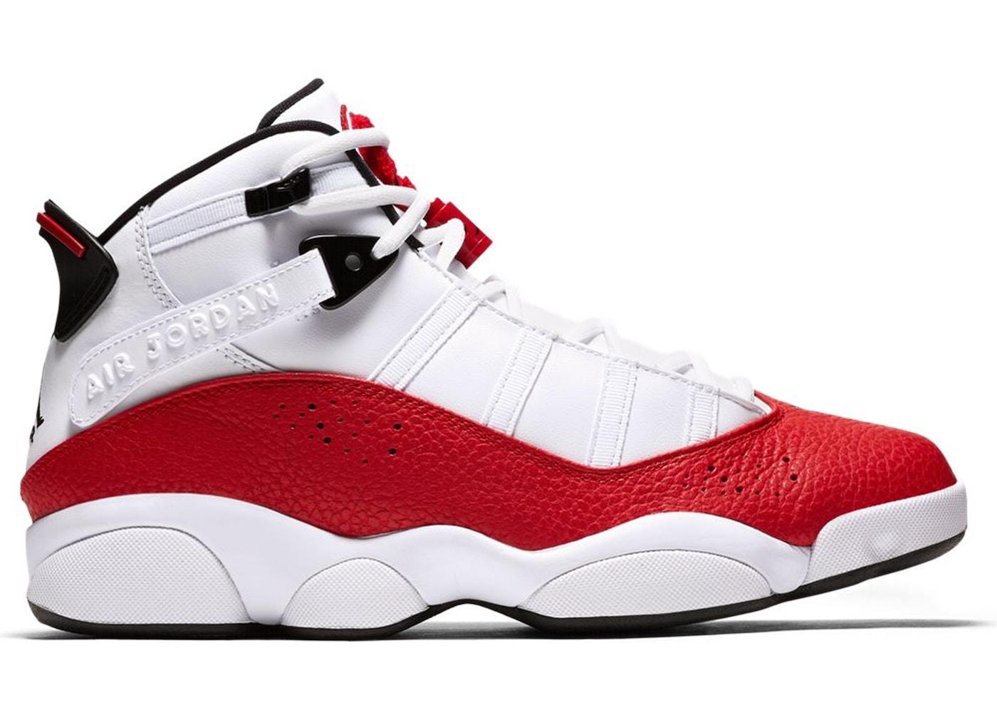 hot sale online d581f 5f221 Size  7.5. View All Bids. Jordan 6 Rings White University Red
