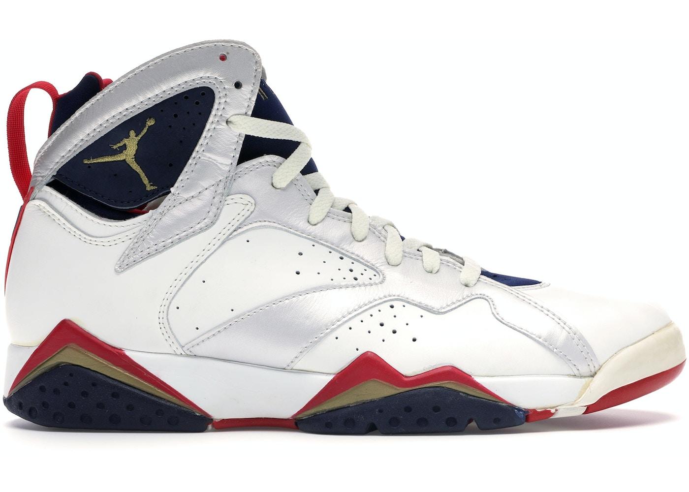 sneakers for cheap 5699d 40a50 Jordan 7 OG Olympic (1992)