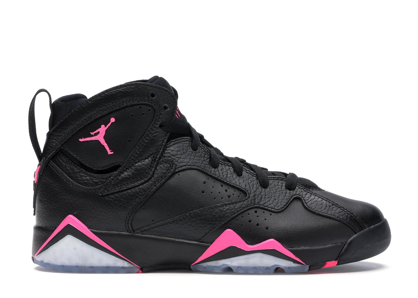Jordan 7 Retro Black Hyper Pink (GS