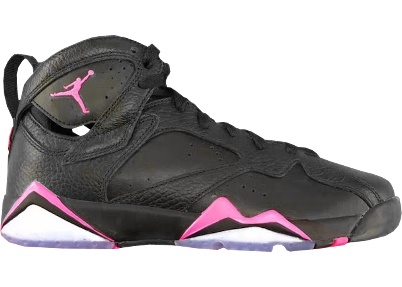 official photos bb839 af4ed Jordan 7 Retro Black Hyper Pink (GS)