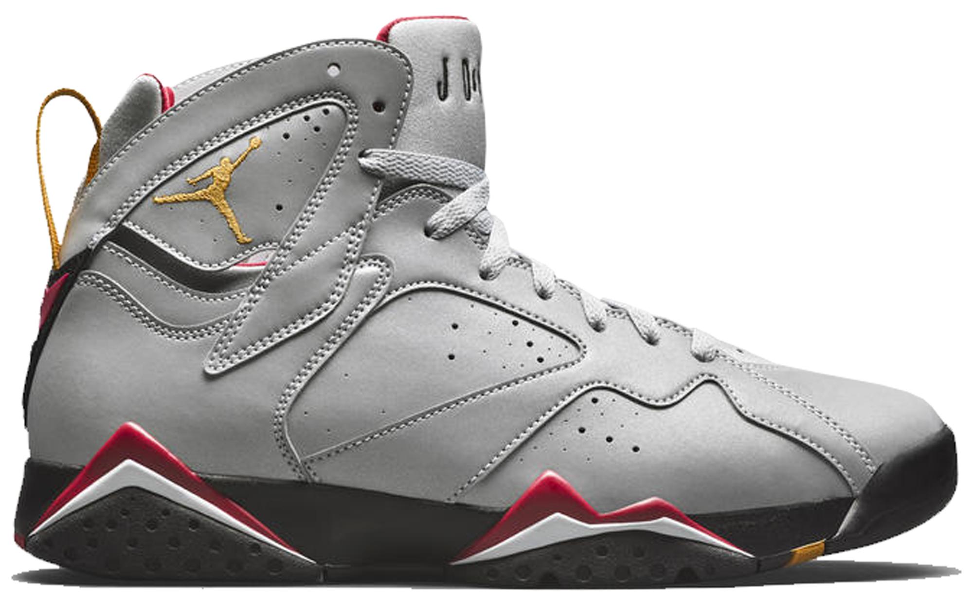 Jordan 7 Retro Reflective Cardinal