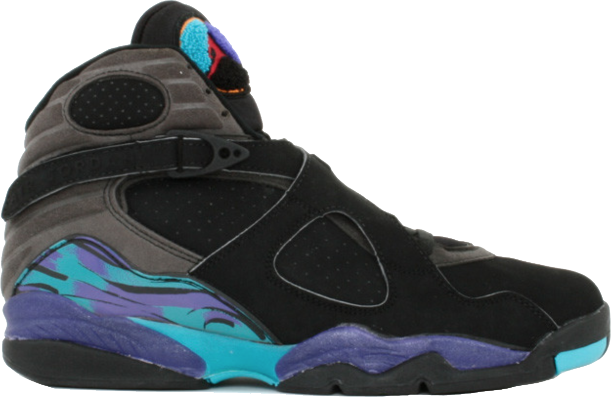 Jordan 8 OG Aqua (1993) - 130169-040