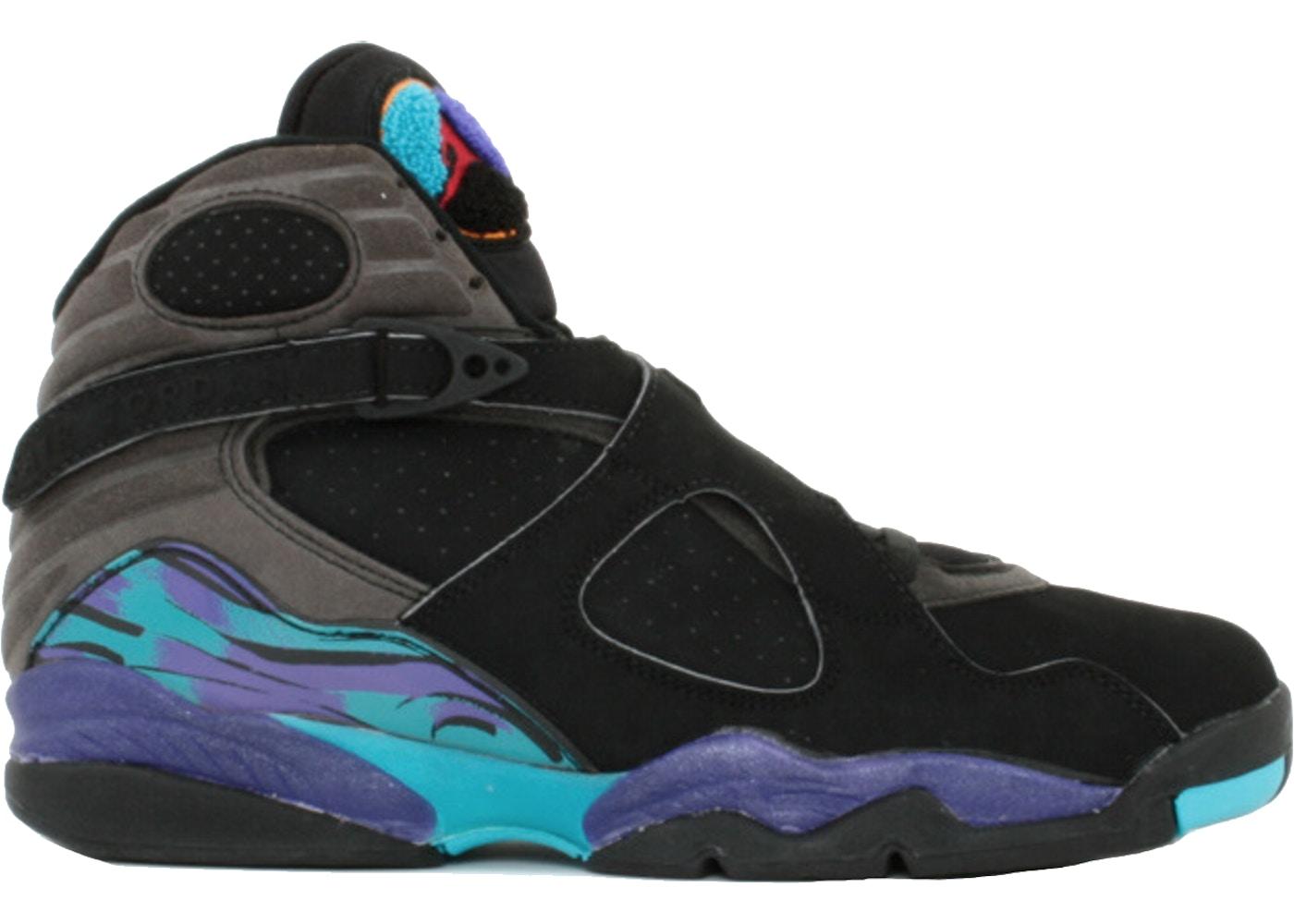 75d9ea9af82763 Jordan 8 OG Aqua (1993) - 130169-040