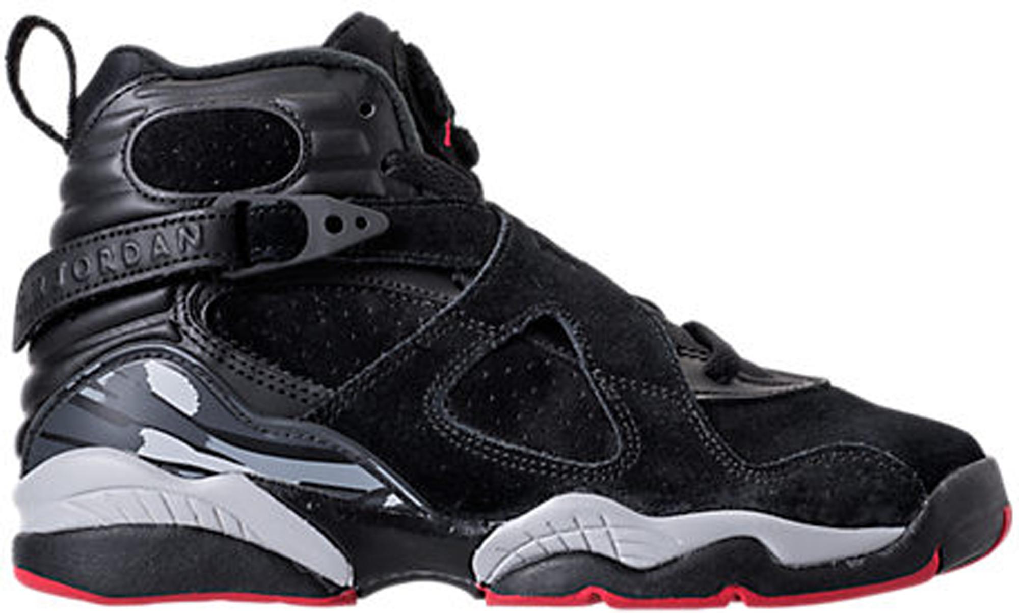 Jordan 8 Retro Black Cement (GS)
