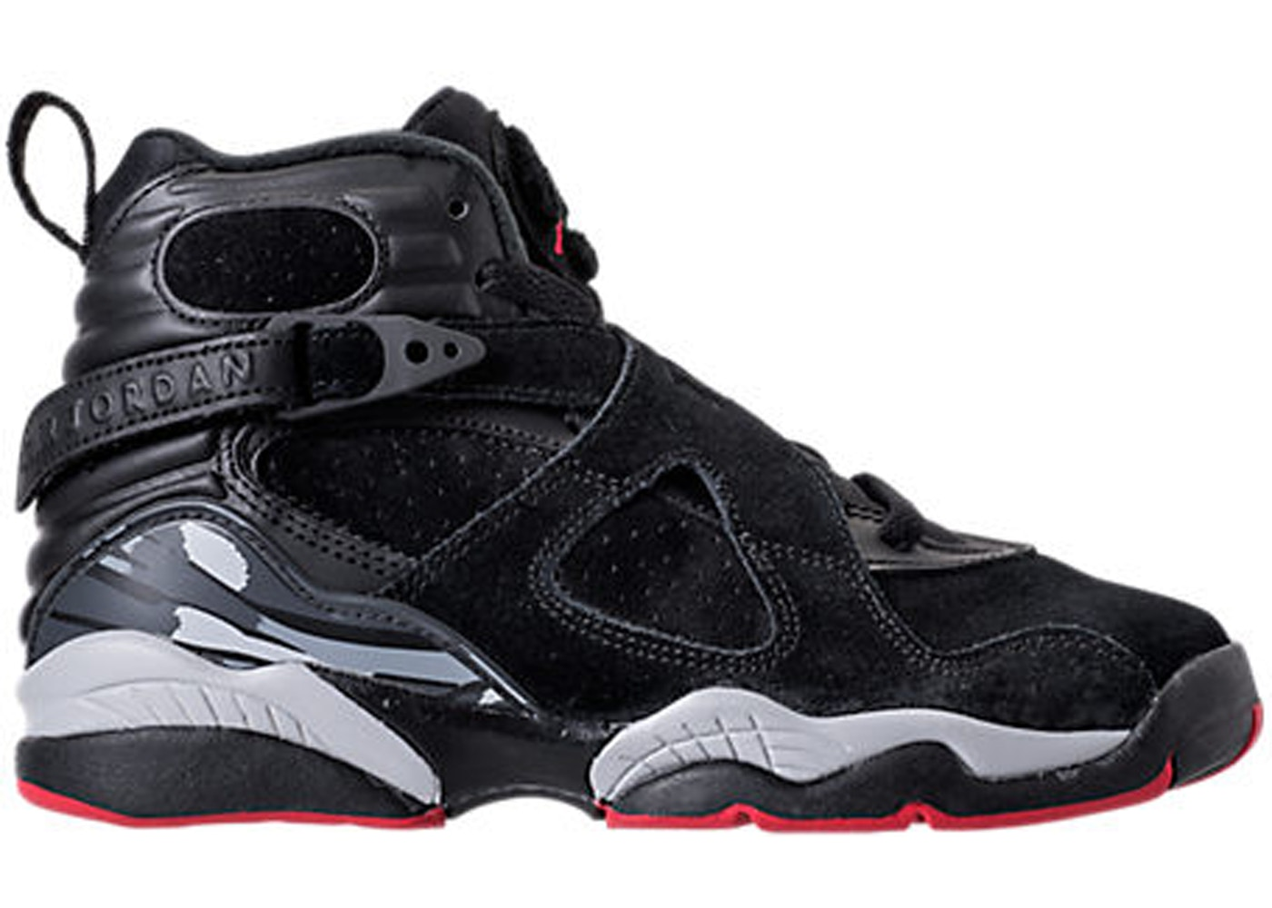 uk availability ebc1a 4dc17 Jordan 8 Retro Black Cement (GS)