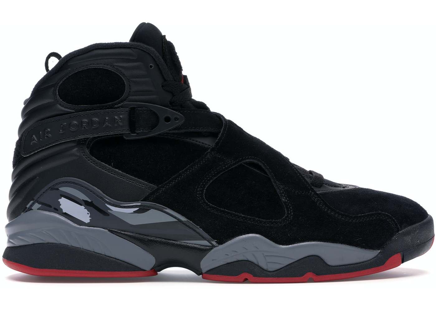 best sneakers 88a55 5e4da Jordan 8 Retro Black Cement - 305381-022