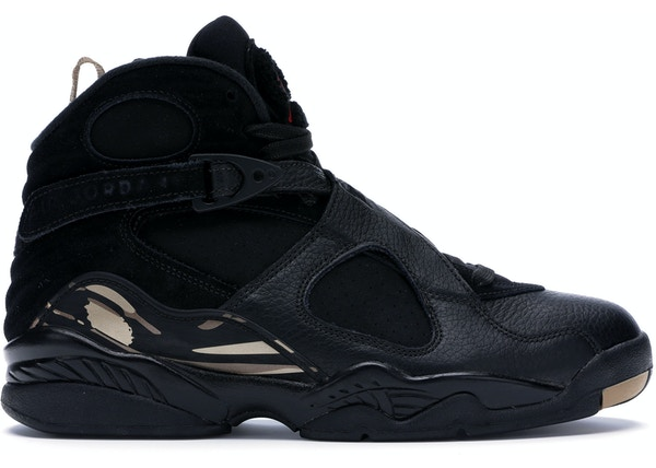 timeless design 56f31 a6df0 Jordan 8 Retro OVO Black