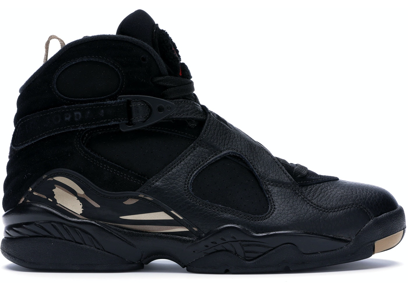 timeless design c0af4 c1c5d Jordan 8 Retro OVO Black