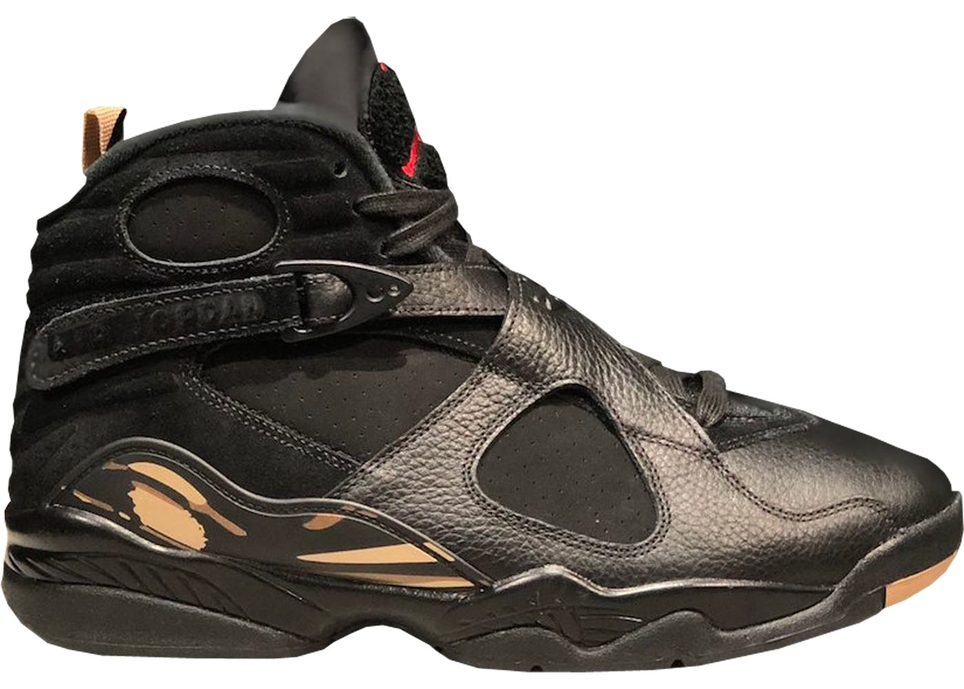3e95f674b73f43 ... factory outlet fed2c f83fa air jordan 8 ovo black . ...