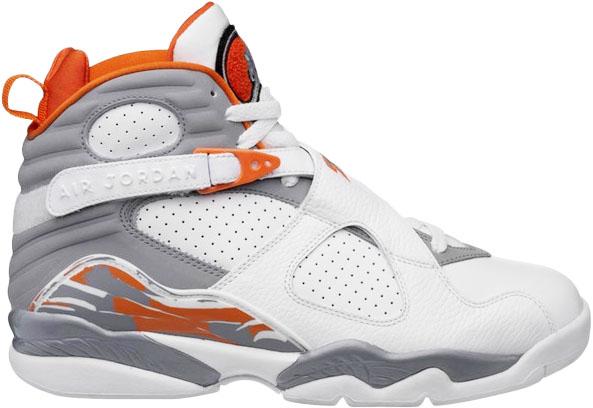 Jordan 8 Retro Orange White (GS