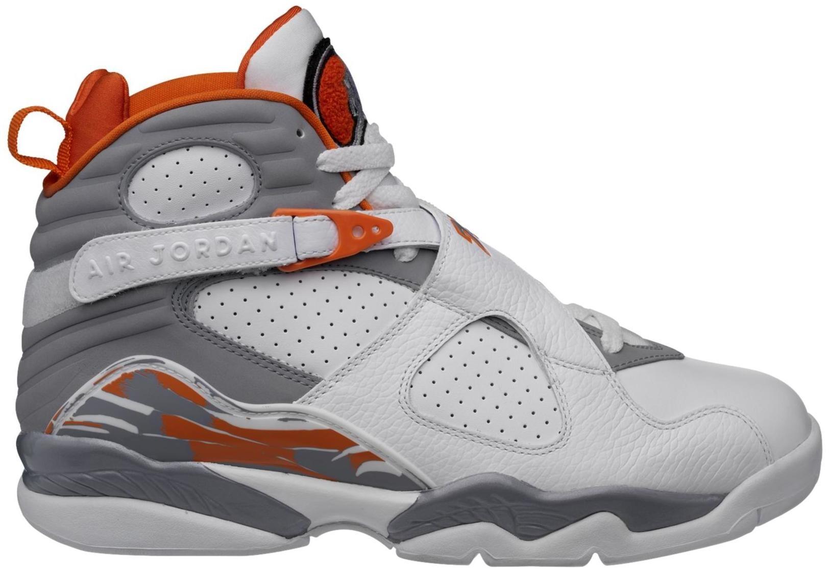 Jordan 8 Retro Orange White