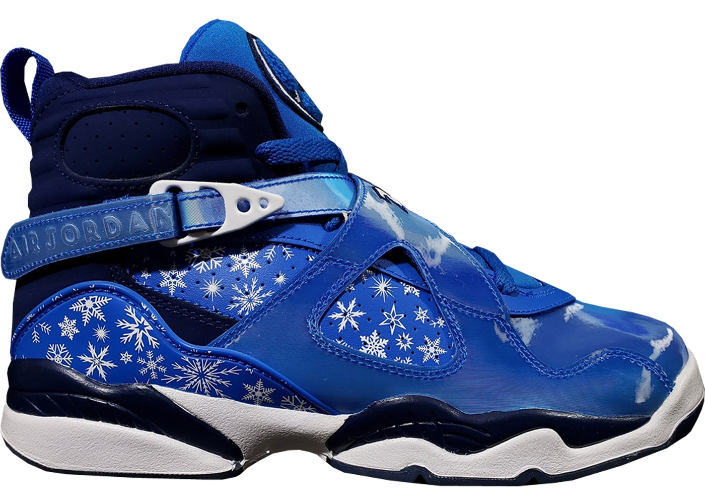 new product 34f29 48745 Jordan 8 Retro Snow Blizzard (GS) - 305368-400