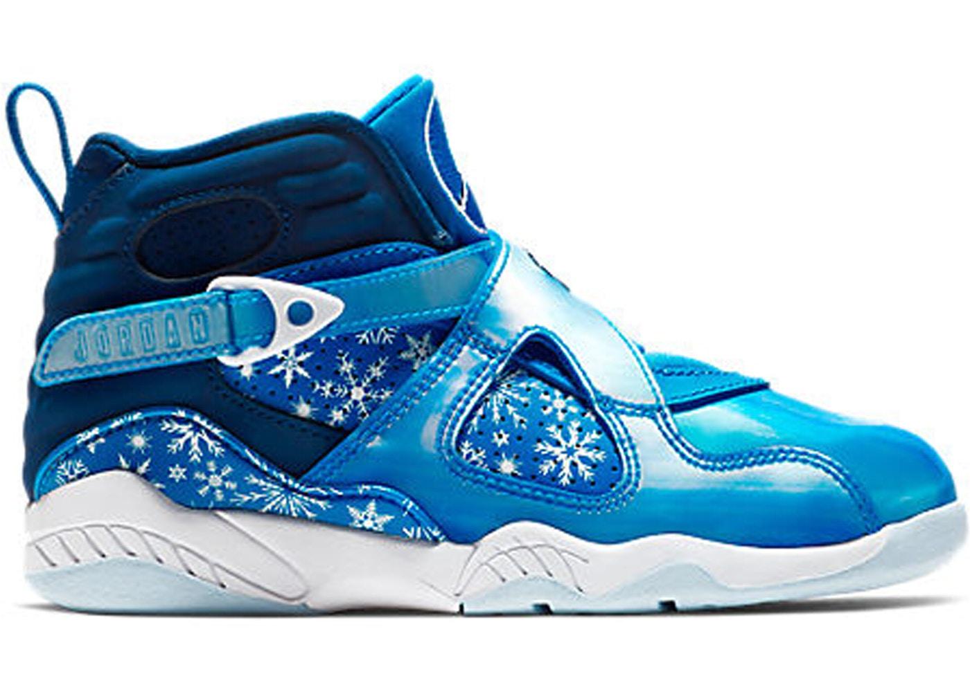 sports shoes e5c03 6b805 Jordan 8 Retro Snow Blizzard (PS)