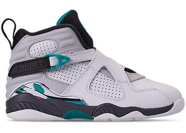 Jordan 8 Retro South Beach (PS) - 305369-113 9d8ab7536