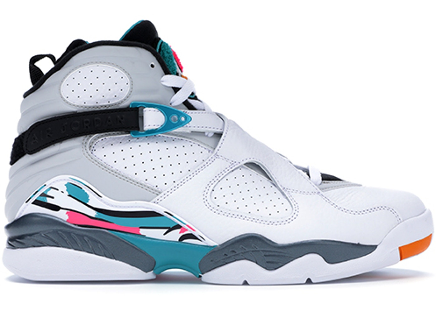 quality design ea5b3 9e0e6 Jordan 8 Retro South Beach - 305381-113