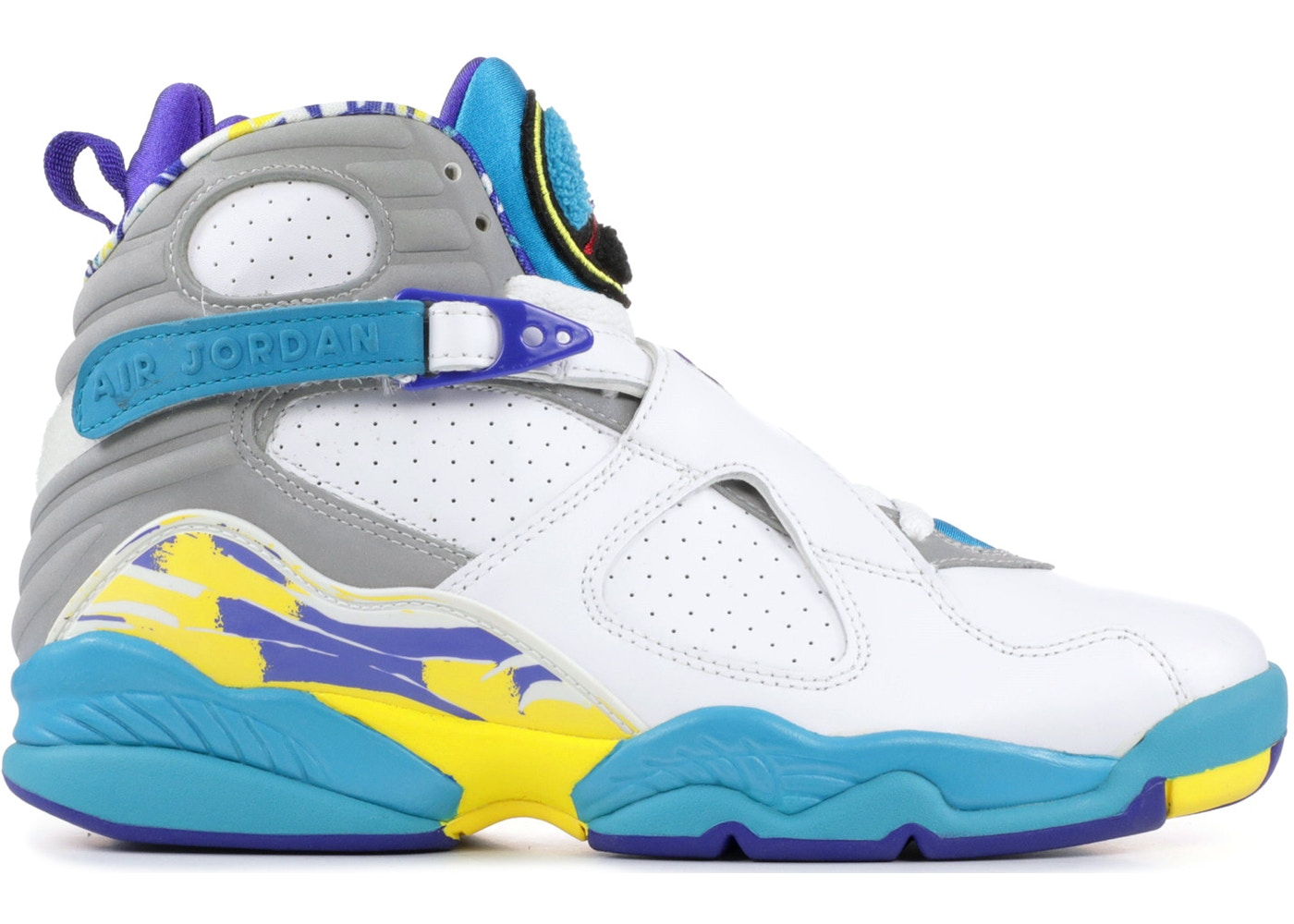 wholesale dealer 105e9 ba1c7 Jordan 8 Retro White Aqua (W) (2007)