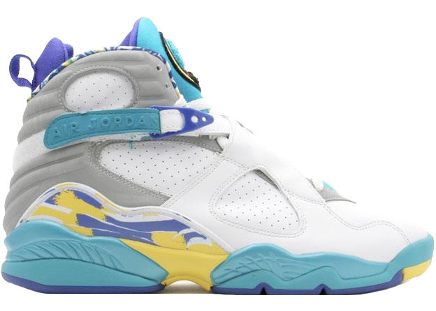timeless design abc84 b41c8 Jordan 8 Retro Aqua (GS)