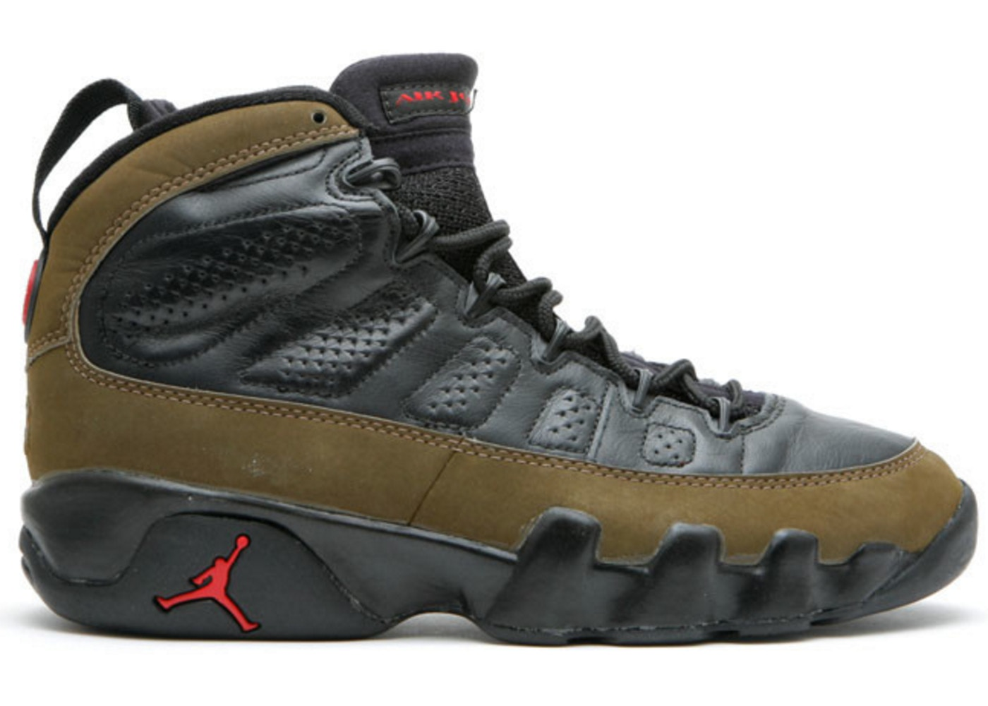 lowest price 10d99 3e269 Air Jordan 9 OG Olive (1993) - 130182-030