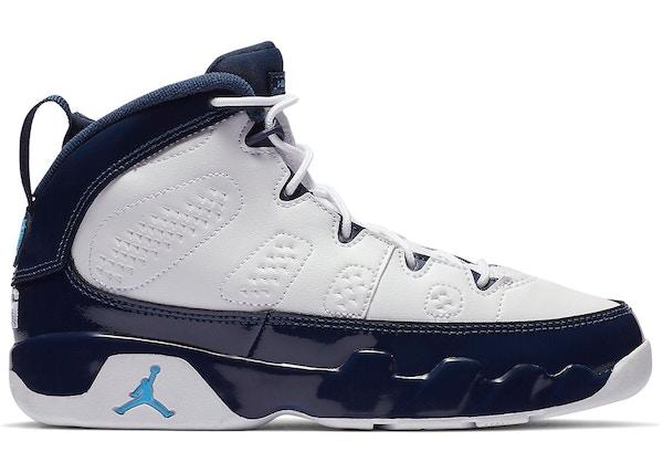 1b7dd4bd41f Jordan 9 Retro Pearl Blue (PS) - 401811-145