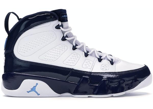 size 40 e1616 683ed Jordan 9 Retro Pearl Blue - 302370-145