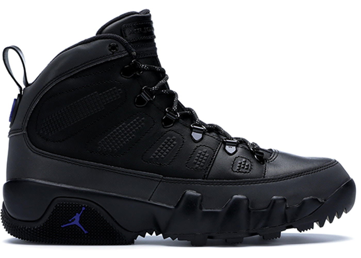 Jordan 9 Retro Boot Black Concord - AR4491-001 a30b36082328