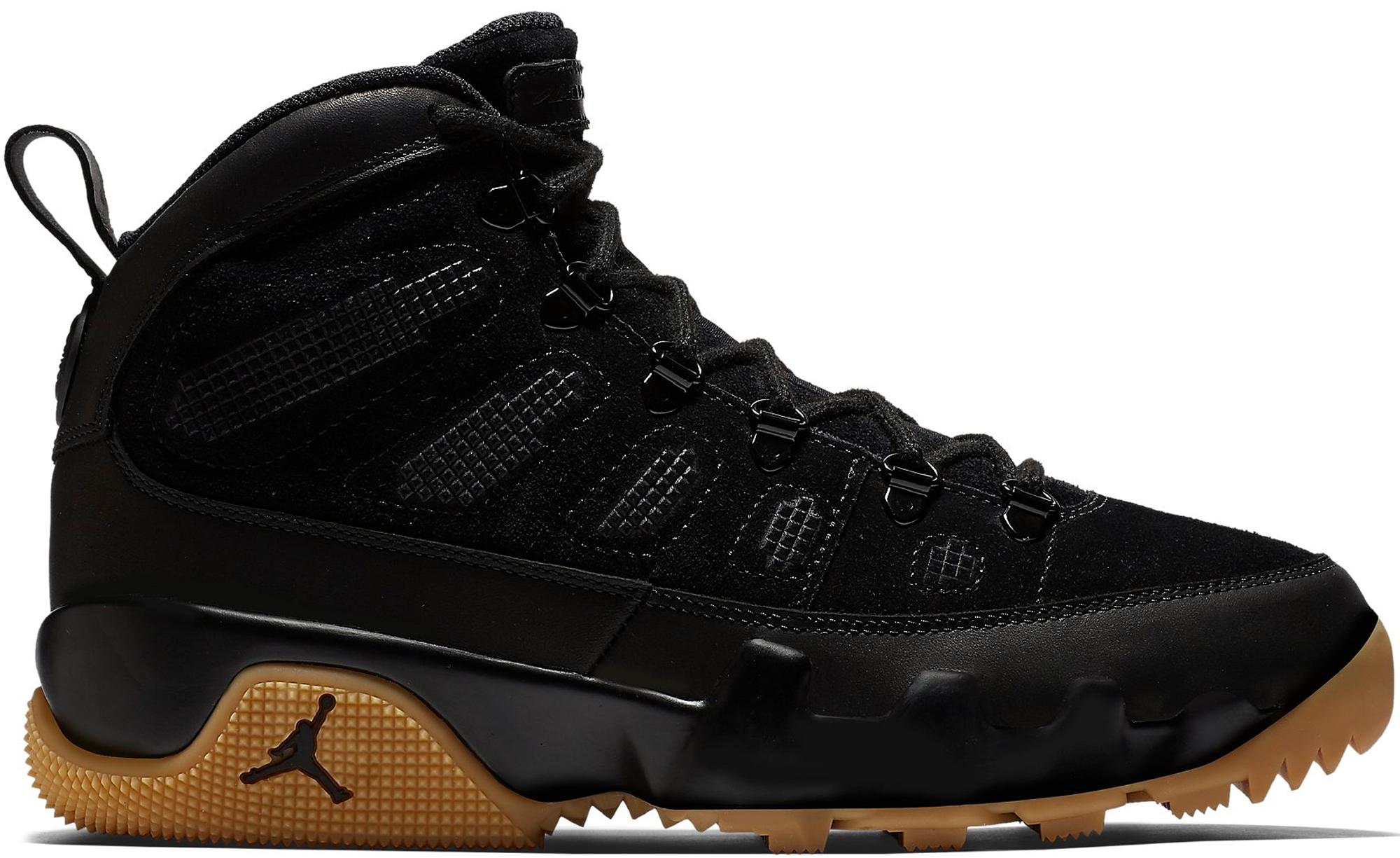 Jordan 9 Retro Boot Black Gum
