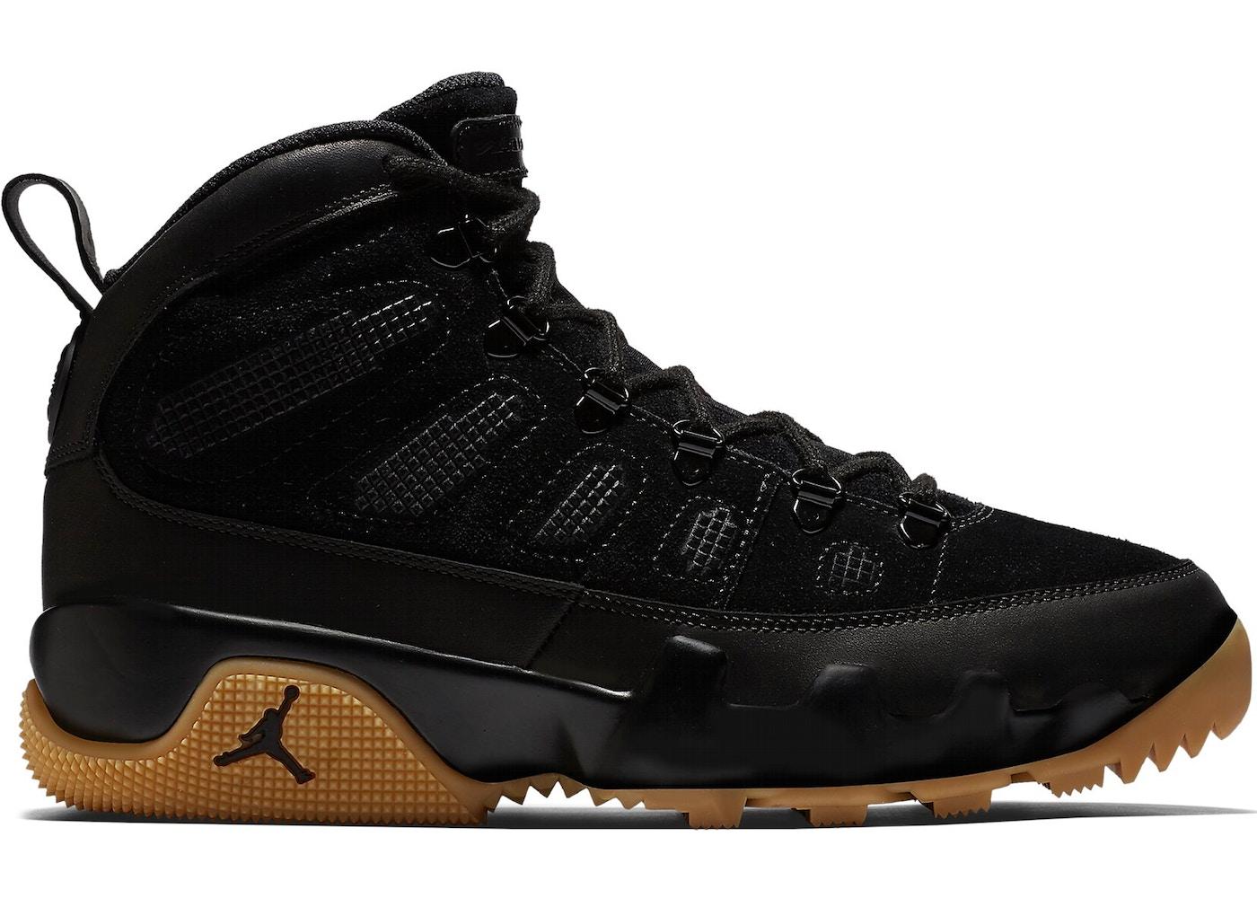finest selection 66ed2 0b4f2 Jordan 9 Retro Boot Black Gum
