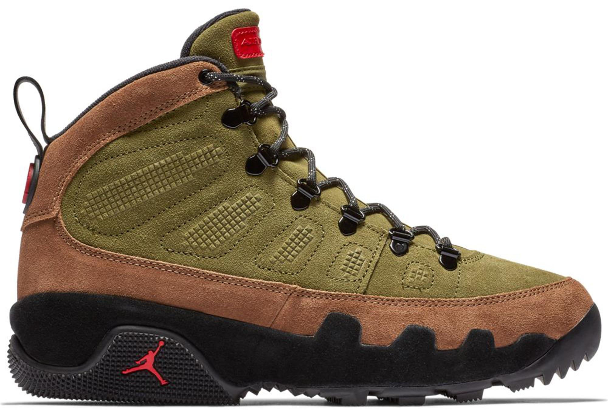 Jordan 9 Retro Boot Military Brown