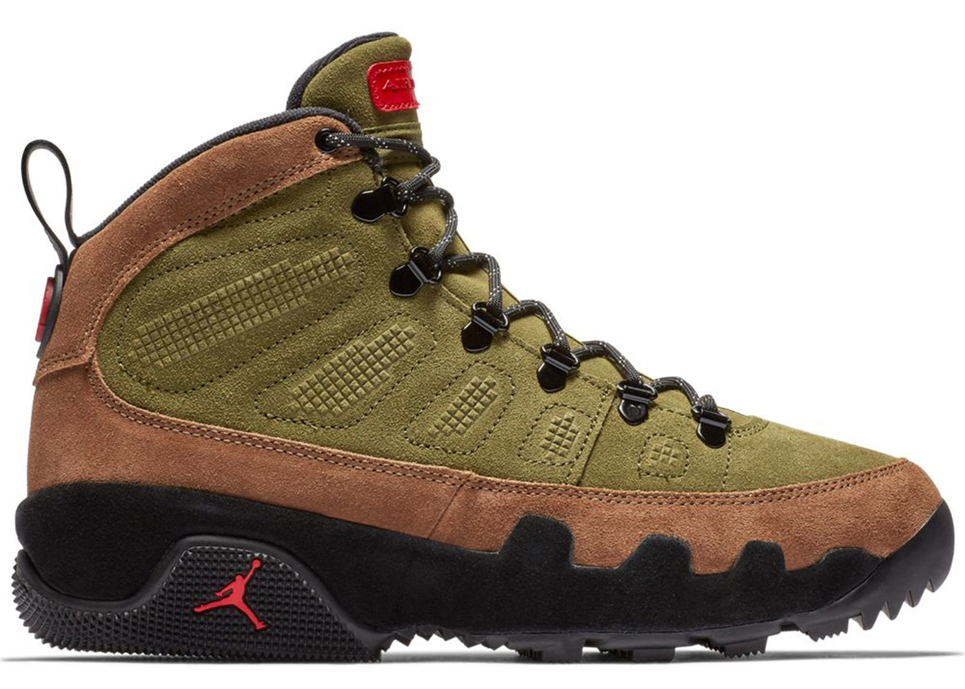 7e5c800cea8 Jordan 9 Retro Boot Military Brown - AR4491-200