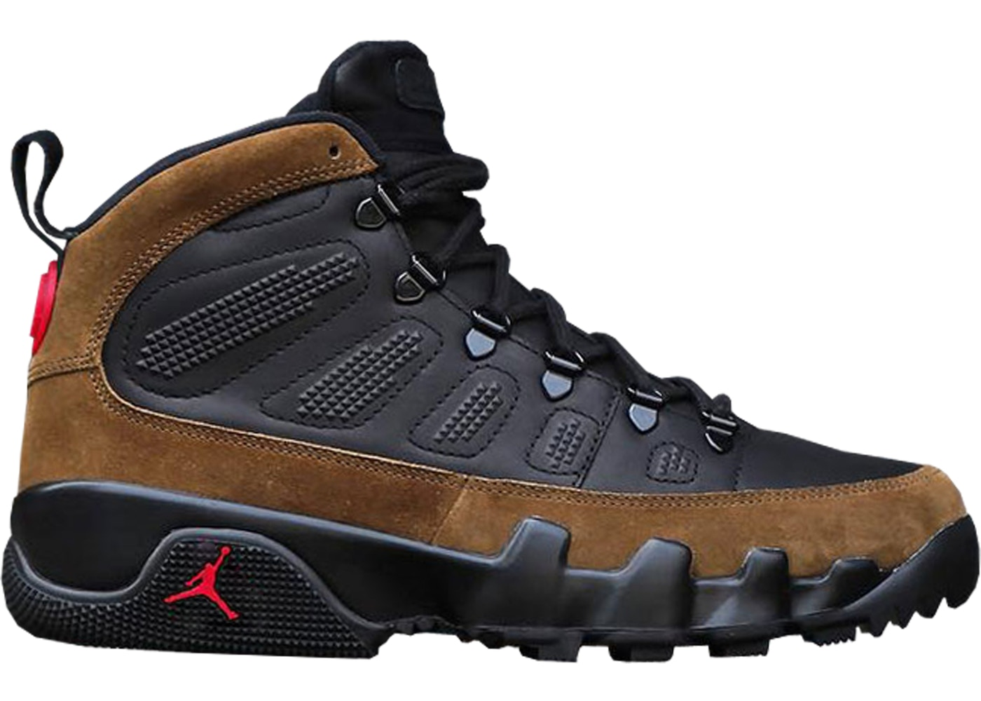 the latest e959d 86c30 Jordan 9 Retro Boot NRG Olive - AR4491-012