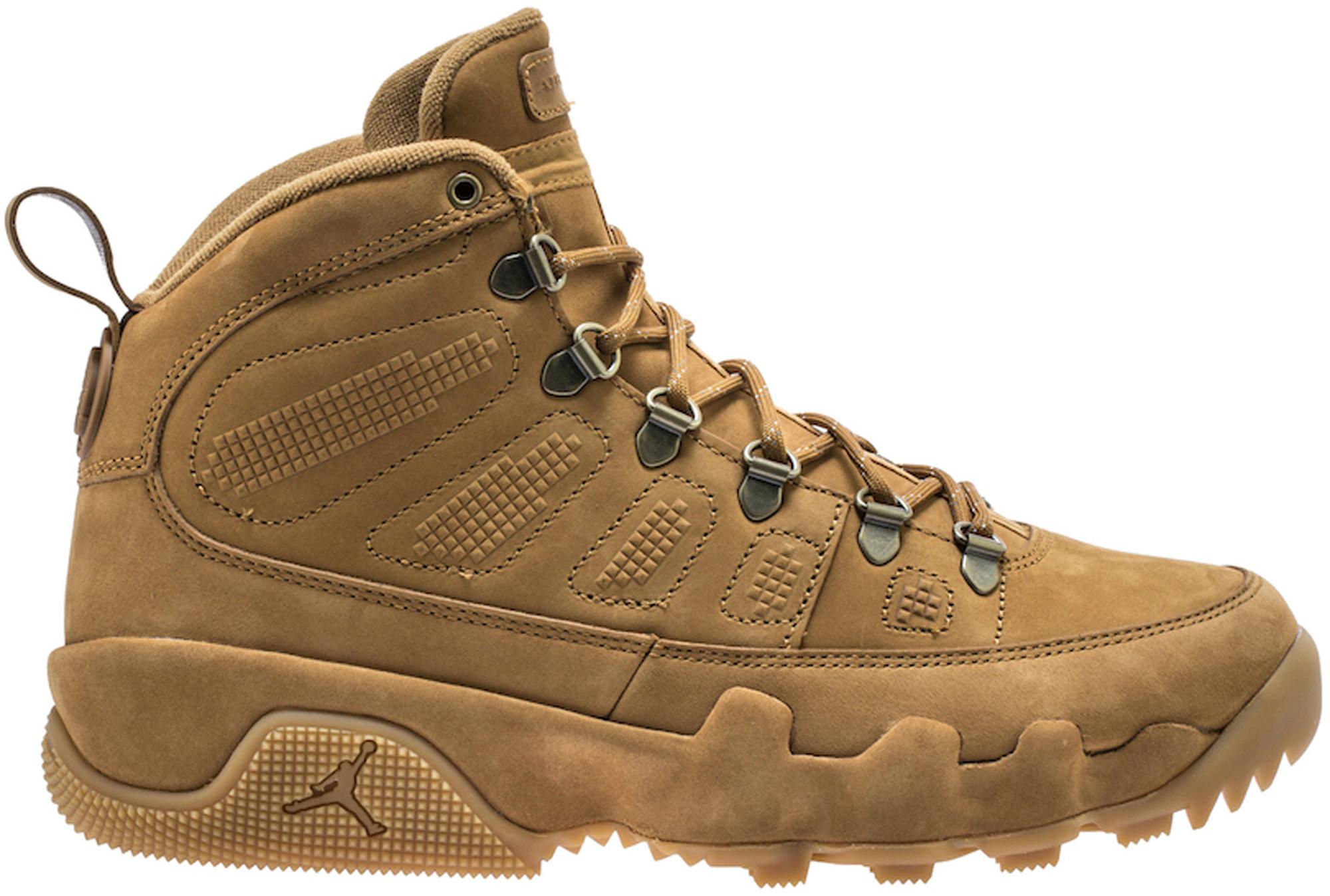 Jordan 9 Retro Boot Wheat