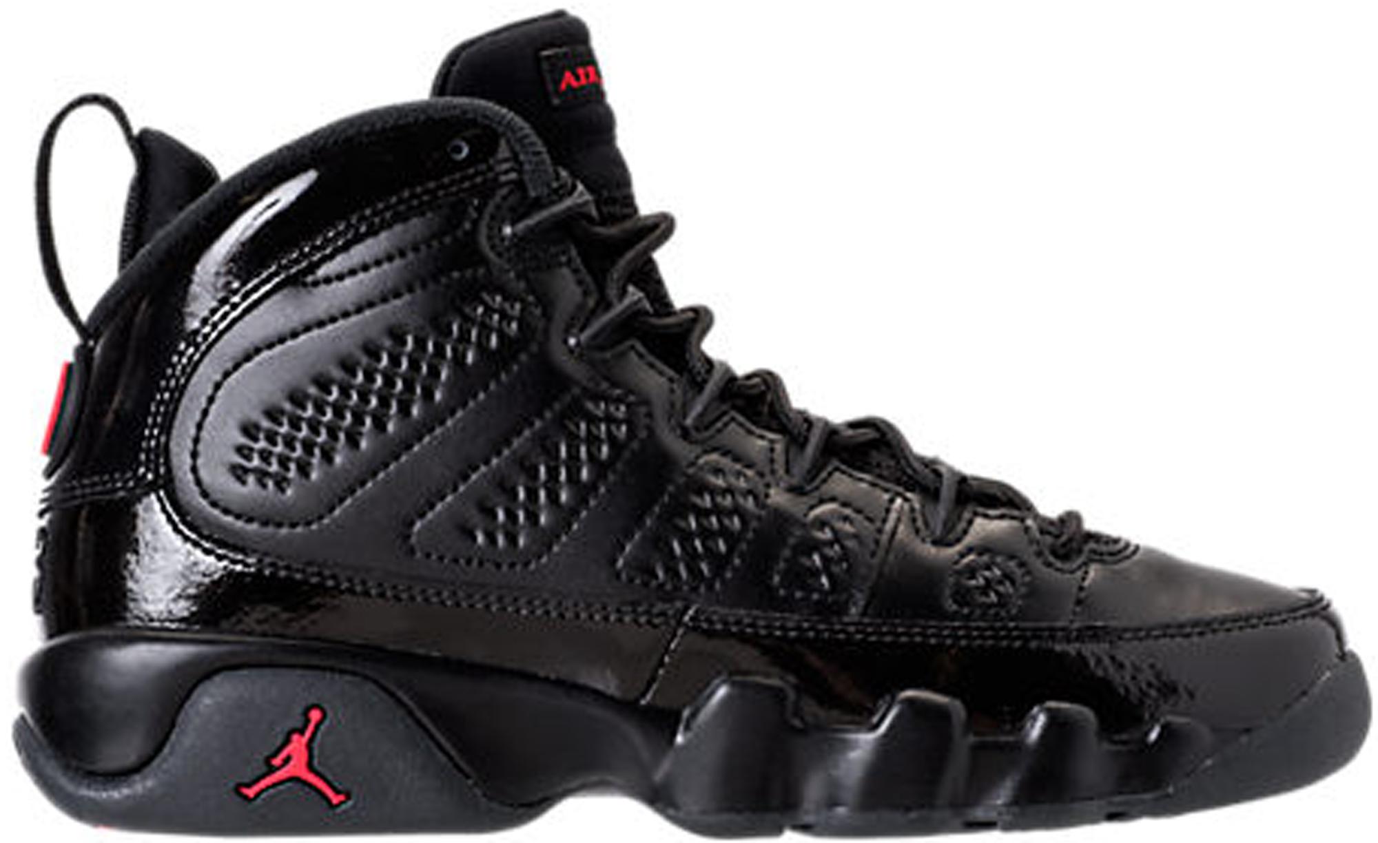 Jordan 9 Retro Bred Patent (GS