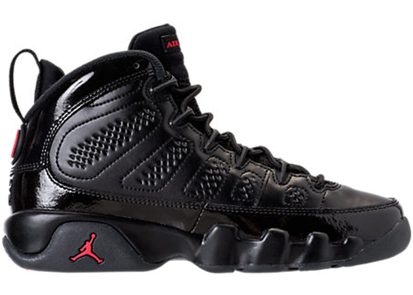 retro jordan 9 bred kids