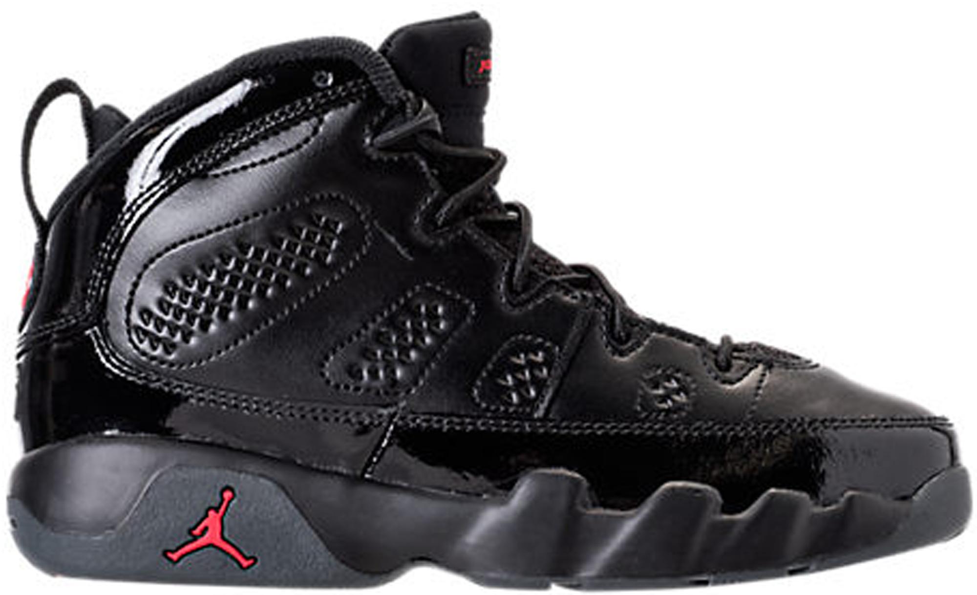 Jordan 9 Retro Bred Patent (PS)