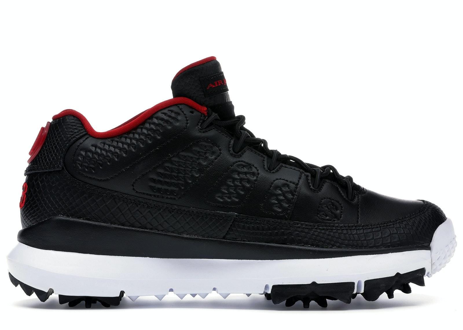 Jordan 9 Retro Golf Cleat Bred