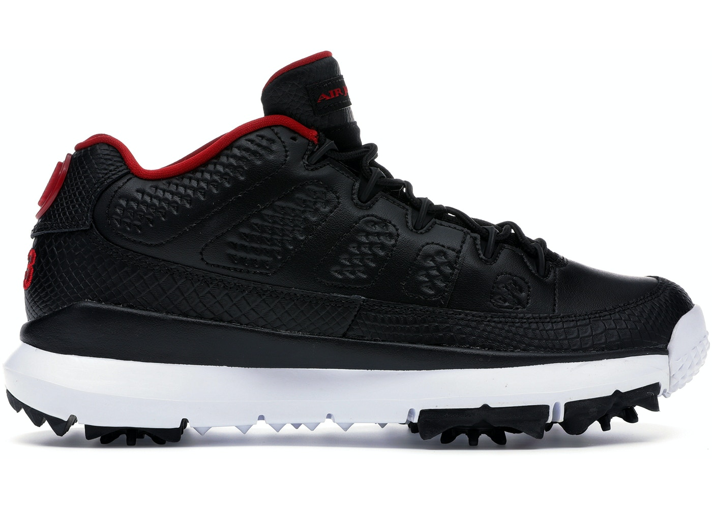new product 68ee6 49657 Jordan 9 Retro Golf Cleat Bred - 833798-002